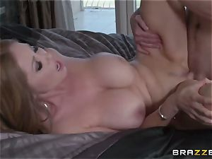 My chinese friend's steamy mature mother Kianna Dior takes my pipe