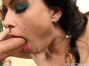 antique pecker gobbling brunette hottie Jessica Jaymes