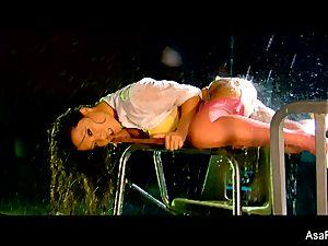 glamour plowing with a dousing raw Asa Akira