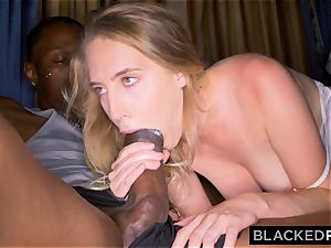 BLACKEDRAW girlfriend Surprises Her beau By ravaging The largest big black cock In the WORLD
