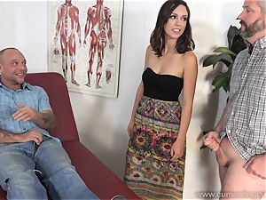 Jade Nile Has Her spouse suck man rod and watch Her