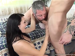 Megan Sages husband jerks lil' beef whistle As She Gets torn up