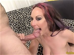 super-naughty milf jacks Then Takes a chisel