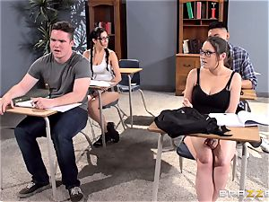 big-chested educator Ava Addams is smashed by her student
