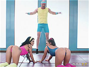 sex-positive workout calls for a hefty boner at the end